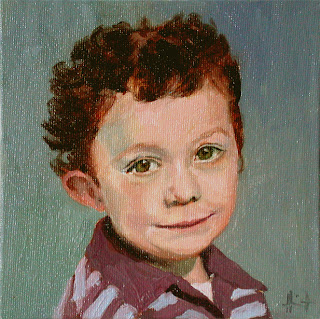 Little Irish Boy by Liza Hirst