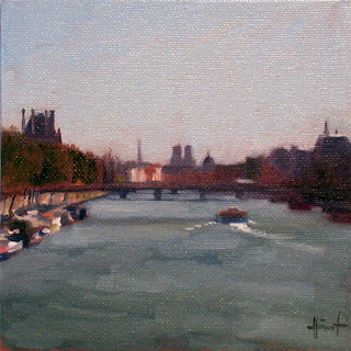 On the Seine by Liza Hirst