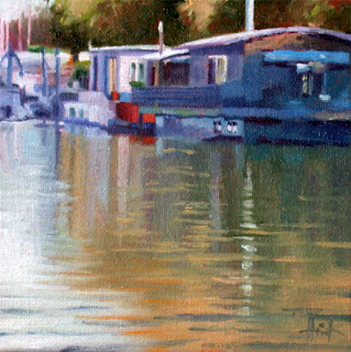 Reflections on the Seine by Liza Hirst