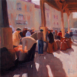 Walnut Market by Liza Hirst