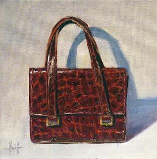 My Things, Vintage Handbag by Liza Hirst