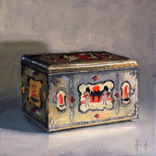 My Things, Tea Caddy by Liza Hirst