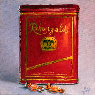 My Things, Red Tin by Liza Hirst