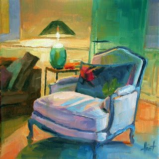 Comfy Chair by Liza Hirst