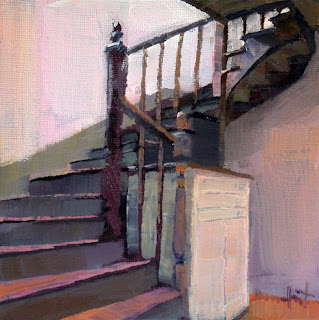 Staircase by Liza Hirst