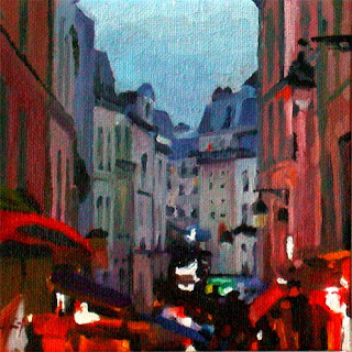 Evening in Paris by Liza Hirst