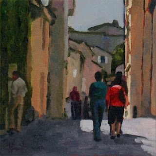 Strolling through St.Emilion by Liza Hirst