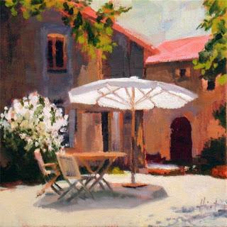 Sunny Spot by Liza Hirst