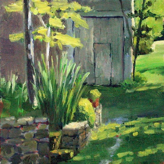 To the Barn by Liza Hirst