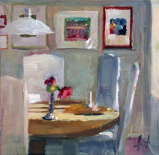 Kitchen Table by Liza Hirst