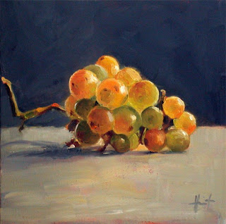 Study of Grapes by Liza Hirst