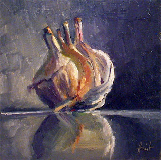 Pirouette on Black Marble by Liza Hirst