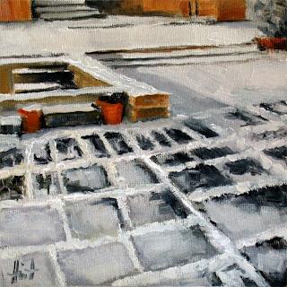 Empty Pool by Liza Hirst
