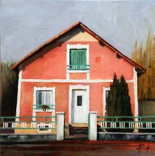 Rue Lakanal N° by Liza Hirst