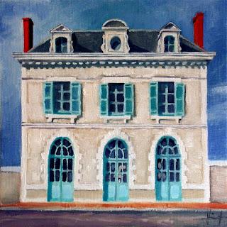 La Gare de Mussidan by Liza Hirst