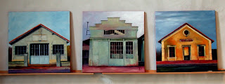 Industrial Triptych by Liza Hirst