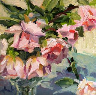 Rose Bouguet by Liza Hirst