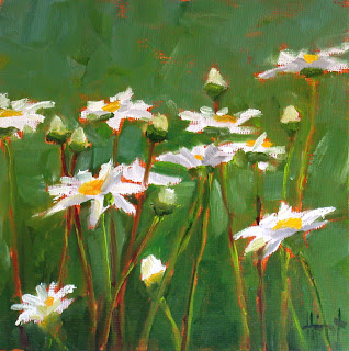 Marguerites by Liza Hirst