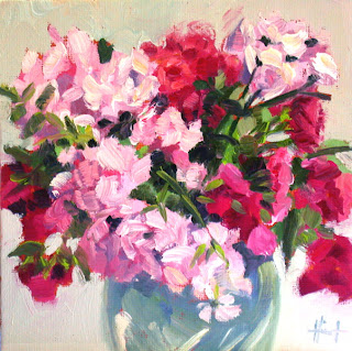 Garden Roses by Liza Hirst
