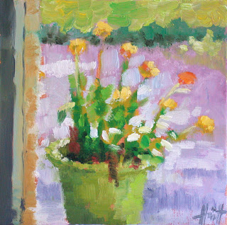 Marigolds by Liza Hirst