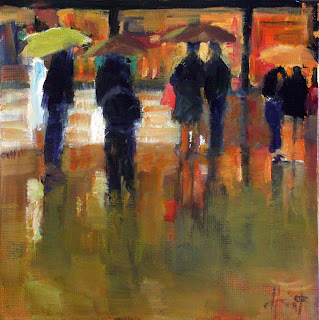 Rainy Evening by Liza Hirst