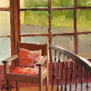 To the Balcony by Liza Hirst