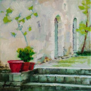 Ancient Walls by Liza Hirst