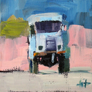 Camion Blanc by Liza Hirst