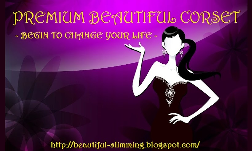 Premium Beautiful Corset - Beautiful Slimming Blogshop