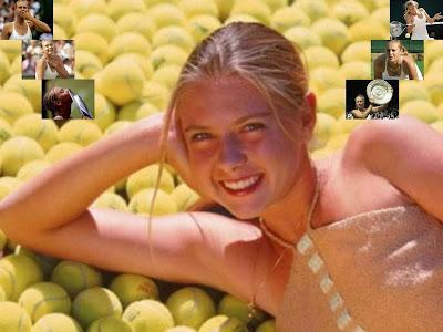 Hot player Maria Sharapova Wallpaper