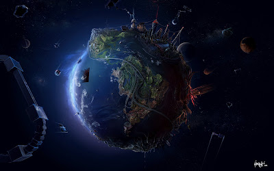 Planet Development Desktop Wallpaper