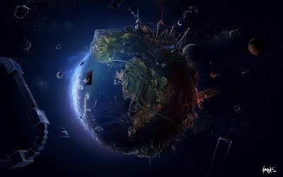 Planet Development Desktop Wallpaper