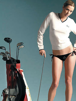 Top Hot Model and Golfer  Anna Rawson Wallpaper