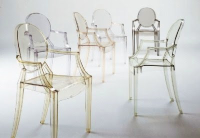 Le style et la mati re philippe starck objects in question - Chaise starck transparente ...
