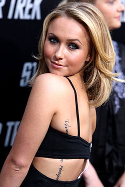 "Hayden panettiere tattoo · Photo from ""Hayden Panettiere Is Single Again"""
