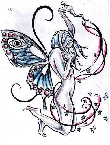 fairy tattoo designs