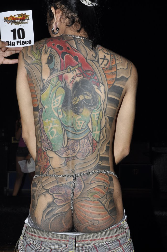 Japanese art Tattoos- Back Tattoos