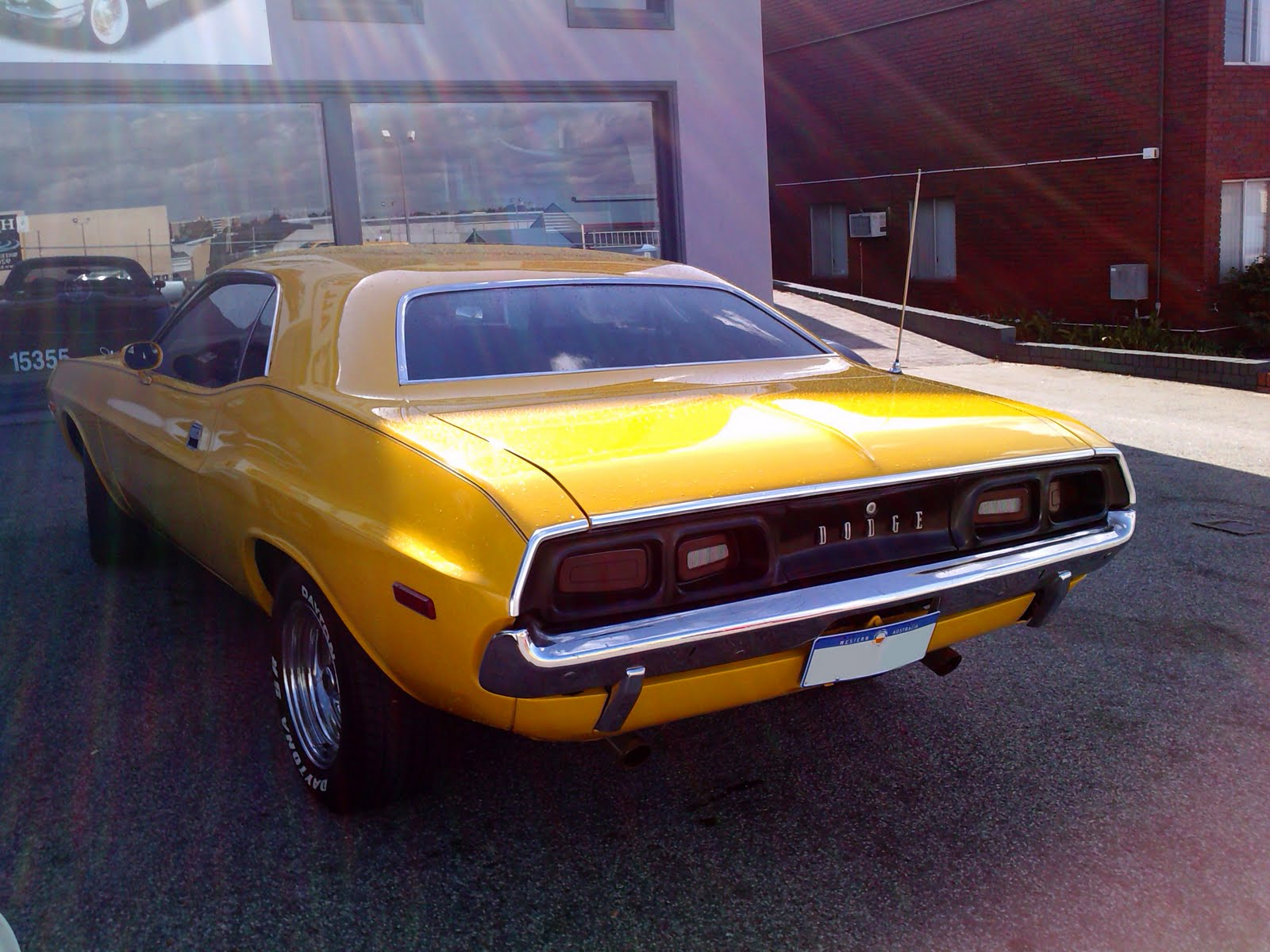 1972 yellow Dodge Challenger