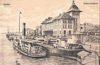 Portul Galati sec. XX