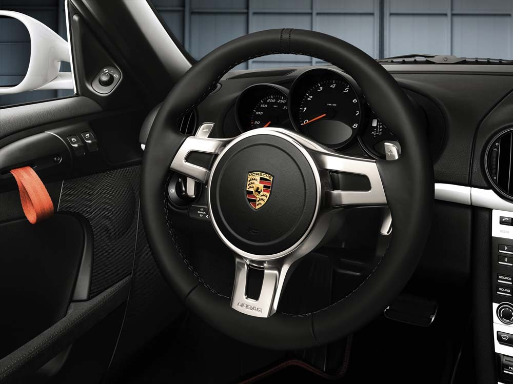 Porsche Tequipment Sport Steering Wheel With Proper