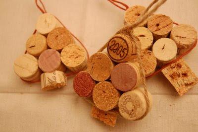 O que fazer com rolhas de vinho.