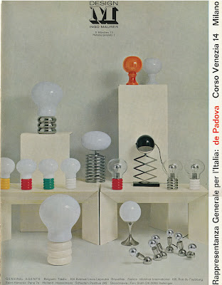 Who Knew That Ingo Maurer Designed So Many Different Type Of Bulb Lamps  During The Late 1960u0027s? This Vintage Advertisement Dates Back To 1969.