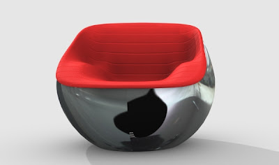 This Modern Space Age Capsule Like Ball Chair Was Designed By Carlo Colombo  For Arflex In Italy. It Is Available In The US Through Stardust.