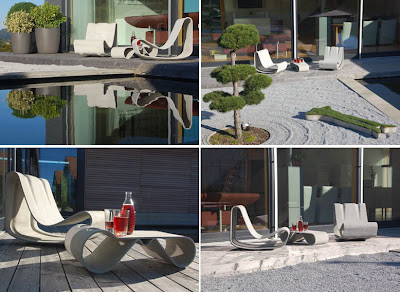 Willy Guhl, Guhl Loop Chair, Outdoor Chaise Lounge Chair Outdoor Furniture  For Garden And Patio