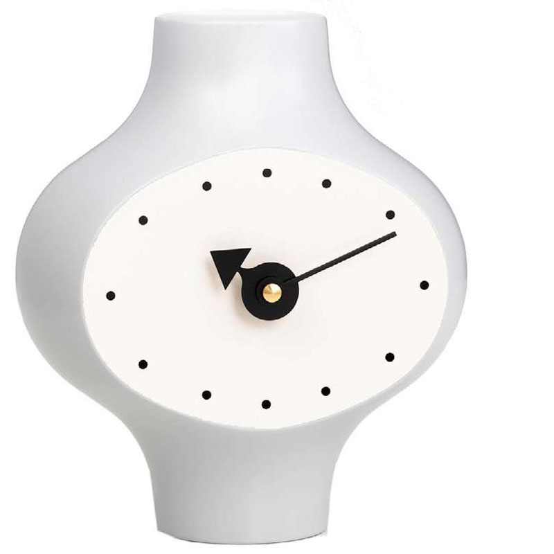 Very Beautiful And Timeless, This Clock Is A Classic. Ceramic Clock Model  #2 Was Designed By George Nelson In 1953. This Attractive Modern Table Clock  Is ...