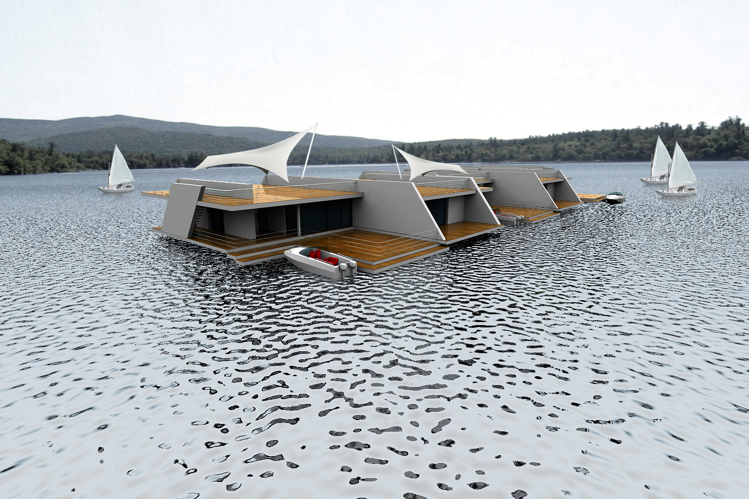 Contemporary Floating Homes ~ Best Of Home Design Ideas