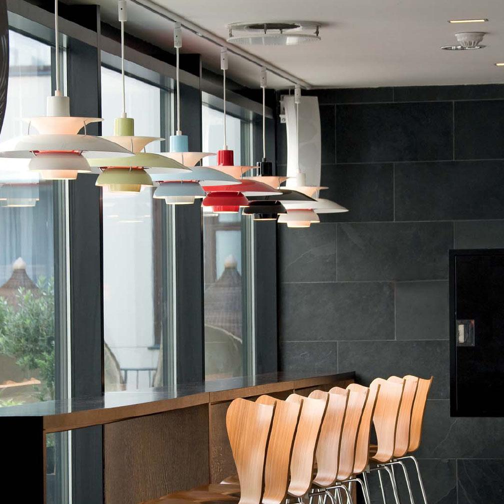 Pendant Lights by Louis Poulsen | modern design by moderndesign.org for Louis Poulsen Ph50  588gtk
