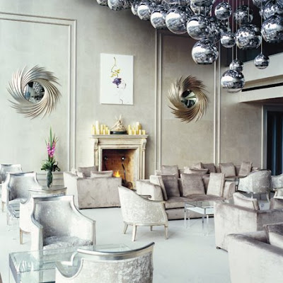 Tom dixon mirror ball lights modern design by moderndesign tom dixon mirror ball modern lights these super beautiful pendant lights were designed by british designer tom dixon the diesel store in new york features aloadofball Image collections
