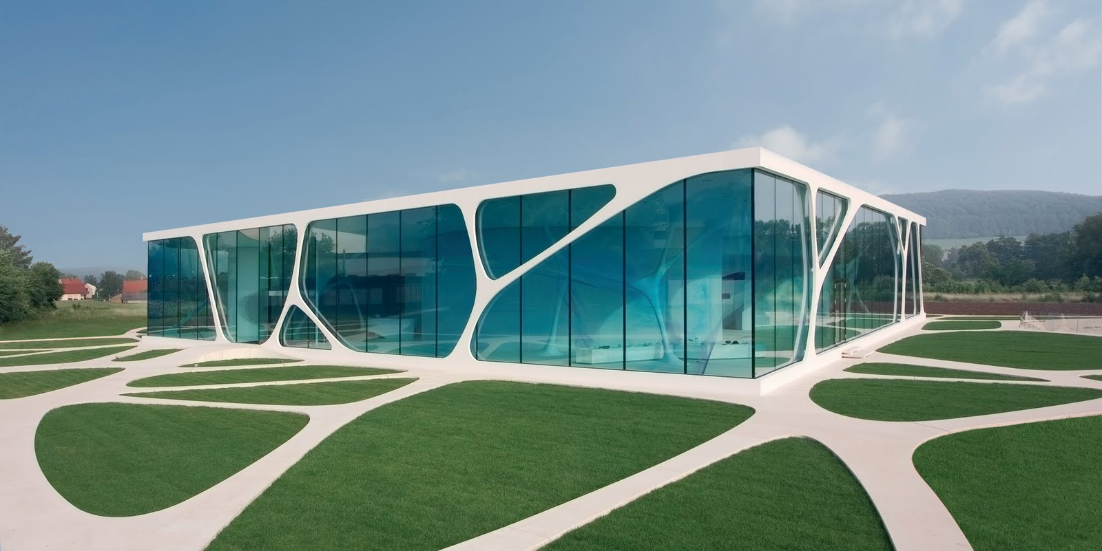 This Striking Example Of Modern Architecture Is Located In Germany.