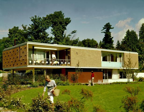 Mid Century Architecture From Canada Modern Design By